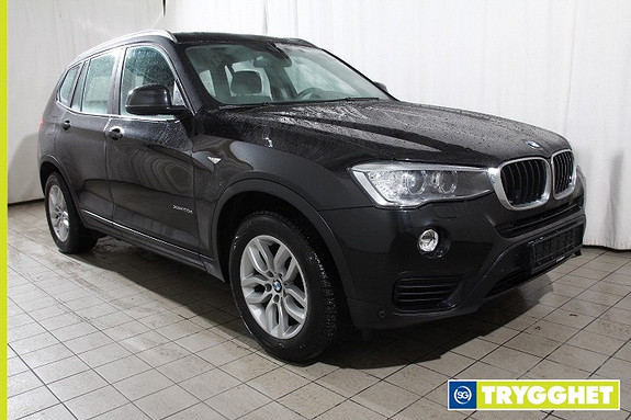 BMW X3 xDrive 20dA Norsk-HeadUp-Navi-Skinn-El.seter-Comf.acc-R.kam-Oppv.ratt-Skiltleser-DAB etc