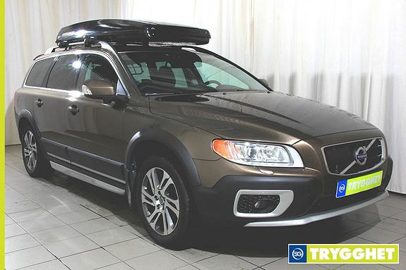 Volvo XC 70 2,4D AWD 163 hk Summum aut Navigasjon, skinninteriør,automat, skiboks meget pen bil