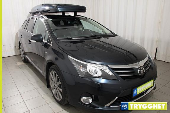 Toyota Avensis 2,2 D-CAT 150hk Premium aut. Takboks Fjernstyrt-dieselvarmer Premium Skinn