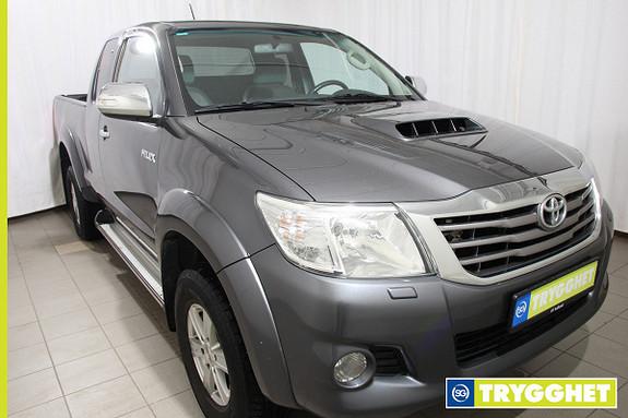 Toyota HiLux D-4D 143hk X-Cab 4wd SR5 Ny service / ny registerreim
