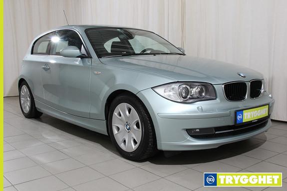 BMW 1-serie 118d Sportstoler,136hk,regnsensor,xenon,PDC, Cruice kontroll