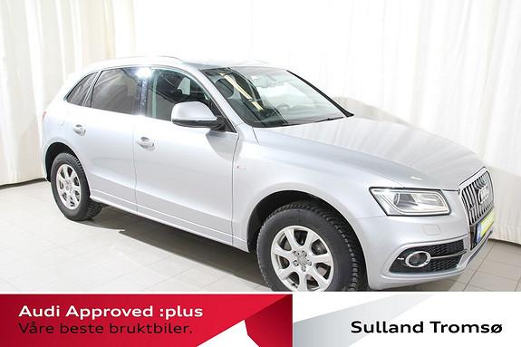 Audi Q5 2,0 TDI 163hk quattro S tronic Sportspk/Navi/Hengerfeste/Bluetooth+++