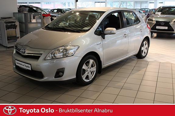 Toyota Auris 1,8 Hybrid Executive HSD AUTOMAT, RYGGEKAMERA  2011, 57601 km, kr 169900,-