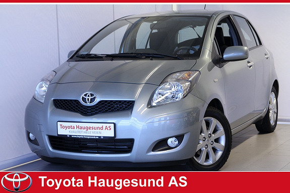 Toyota Yaris 1,33 S-Edition S&S Bluetooth, aircondition, alu - SE KM!!  - Norsksolgt, tectylert  2011, 18 200 km, kr 139 000,-