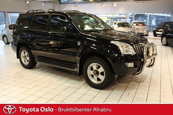 Toyota Land Cruiser 3,0 D-4D GX Aut 8-SETER  2006, 181644 km, kr 329900,-