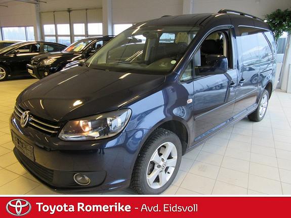 Volkswagen Caddy 2.0 140 TDI DSG automat! 4 motion! Garanti! Finans! Innbytte!  2011, 166000 km, kr 169000,-