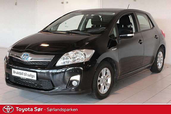 Toyota Auris 1,8 Hybrid Advance HSD Innbyttegaranti kr. 20.000,-  2012, 40000 km, kr 185000,-