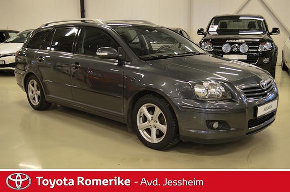 Toyota Avensis 2,0 D-4D Executive m/DPF  2007, 165000 km, kr 139000,-