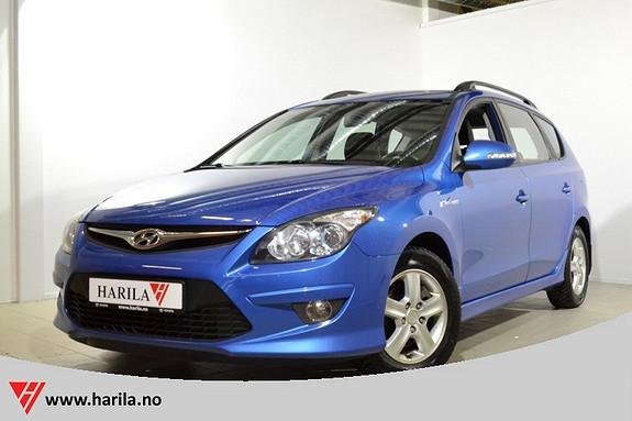 Hyundai i30 1,6 CRDi 116 Hk Premium SE Blue Drive Hengerfeste, Del skinn ++++  2012, 75185 km, kr 145000,-