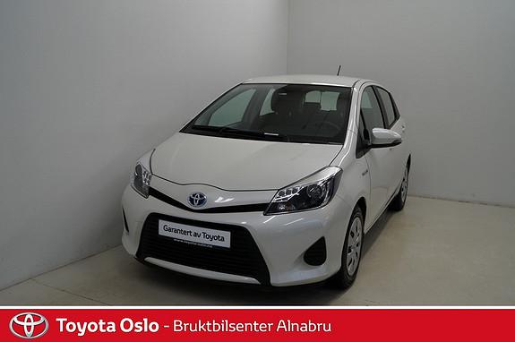 Toyota Yaris 1,5 Hybrid Active e-CVT  2014, 33798 km, kr 184900,-