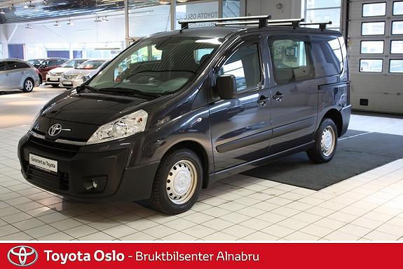Toyota Proace 2,0 128hk L1H1 (m/bakluke)  2013, 26215 km, kr 194900,-
