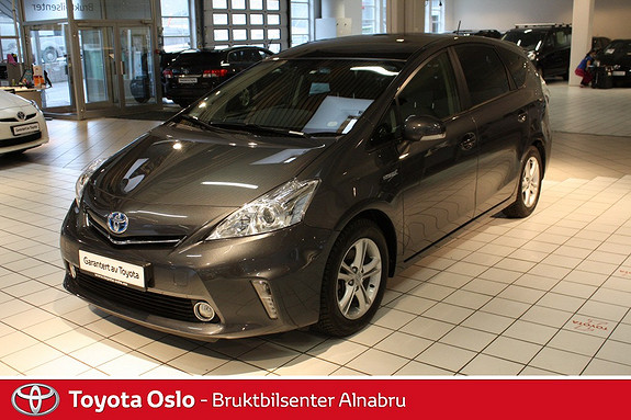 Toyota Prius+ Seven 1,8 VVT-i Hybrid Executive Skyview NAVIGASJON  2013, 49272 km, kr 274900,-
