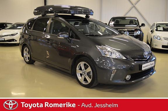 Toyota Prius+ Seven 1,8 VVT-i Hybrid Executive Skiboks  2014, 42500 km, kr 299000,-