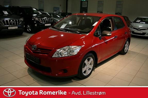 Toyota Auris 1,33 Dual VVT-i Stop&Start Comfort  2011, 64016 km, kr 149000,-