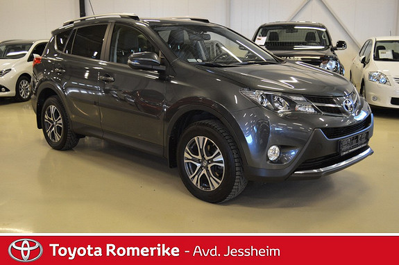 Toyota RAV4 2,0 D-4D 2WD Executive Soltak, skinn  2013, 29400 km, kr 319000,-