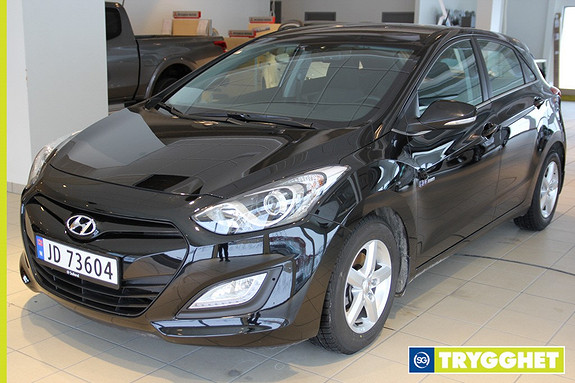 Hyundai i30 1,6 CRDi 110hk Comfort Pluss Demobil / Ryggekamera / Parksensor / Bluetooth / +++