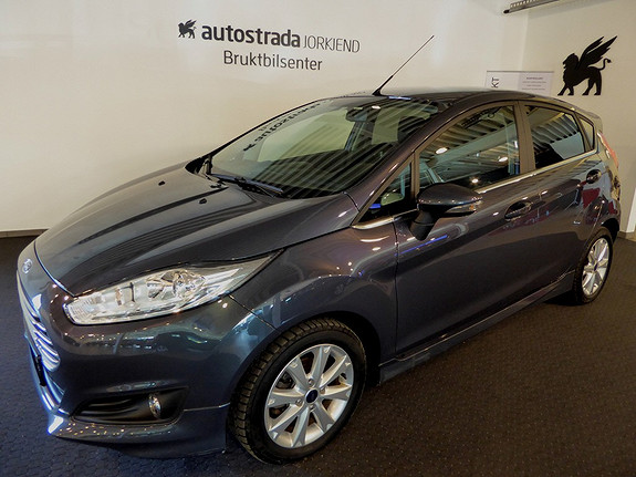 Ford Fiesta 1,0T 100hk Titanium DAB/Bluetooth/Styling++  2013, 44000 km, kr 159000,-