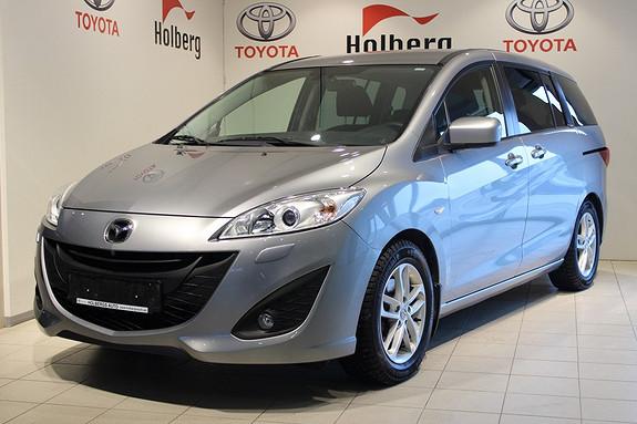 Mazda 5 1,6 Diesel 115hk Advance - 7 seter  2012, 21000 km, kr 219000,-