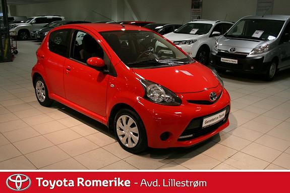 Toyota Aygo 1,0 + 5-d  2013, 28341 km, kr 99000,-