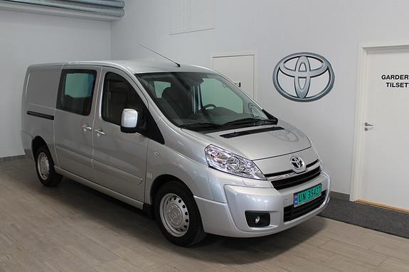 Toyota Proace 2,0 128hk L1H1 (m/bakluke) VI SELGER VÅR DEMOBIL BILLIG!!**NYBILGARANTI**VELHOLDT  2015, 4583 km, kr 239000,-