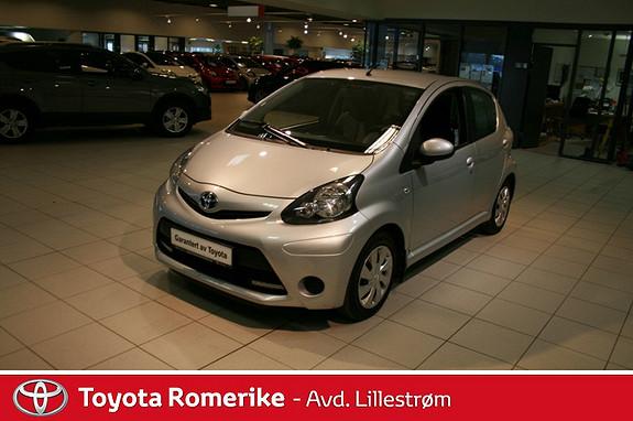 Toyota Aygo 1,0 + 5-d  2013, 31417 km, kr 99000,-