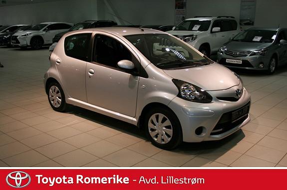 Toyota Aygo 1,0 + 5-d  2013, 33376 km, kr 99000,-