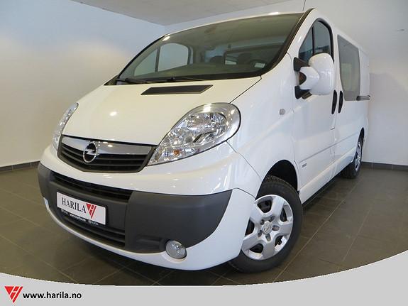 Opel Vivaro 2,0 CDTi 114hk Mester Premium L1H1 3 seter  2014, 31123 km, kr 179000,-