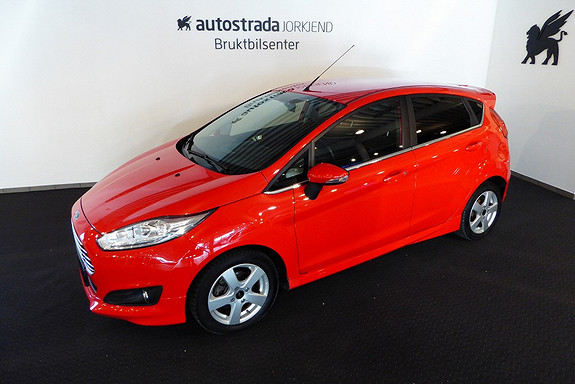 Ford Fiesta 1,0T 100hk Titanium Styling/DAB/oppv frontrute/16