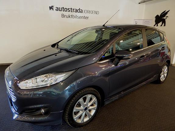 Ford Fiesta 1,0T 100hk Titanium DAB/Styling/Bluetooth/Klima +++  2013, 37800 km, kr 159000,-