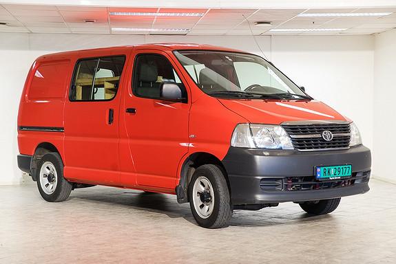 Toyota HiAce D-4D 5-d 117hk 4WD kort 2-s  2011, 100000 km, kr 199000,-