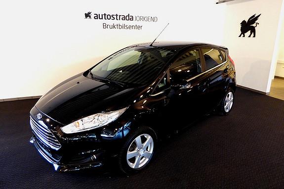 Ford Fiesta 1,0T 100hk Titanium DAB/Styling/Bluetooth/Klima +++  2013, 48000 km, kr 159000,-