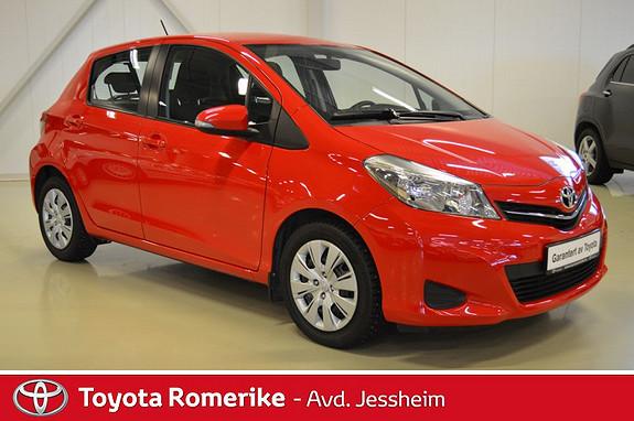 Toyota Yaris 1,4 D-4D Active -Serviceavtale inkluder-Minimum 20.000kr i innbytte-  2013, 17500 km, kr 159000,-