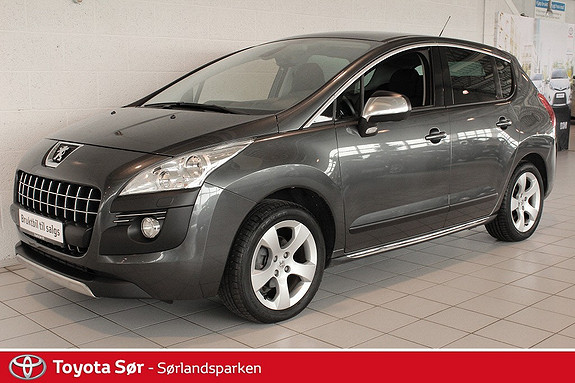 Peugeot 3008 1,6 Premium e-HDi EMG 112 hk Panoramatak og hengerfeste  2011, 77500 km, kr 169000,-