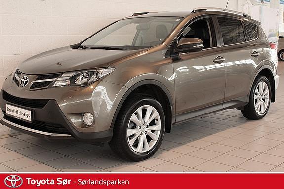 Toyota RAV4 2,0 4WD Multidrive S Executive Bensin/Automat m/hengerfeste  2013, 65000 km, kr 359000,-