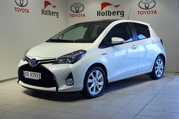 Toyota Yaris 1,5 Hybrid Style e-CVT - Hybrid, automat, panorama  2015, 6000 km, kr 229000,-