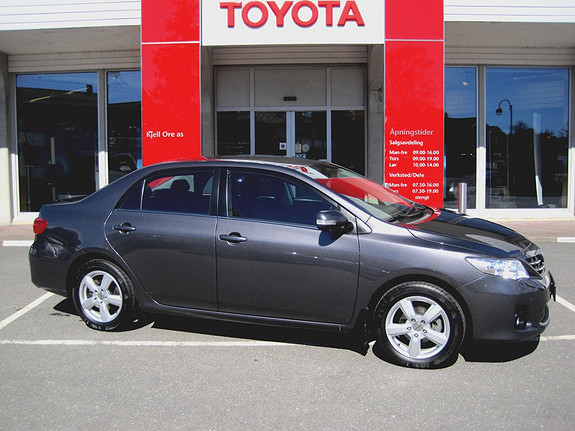 Toyota Corolla 1,6 Advance Multi Mode m/ hengerfeste, automatgir, ryggesensor foran/bak  2012, 26754 km, kr 179000,-