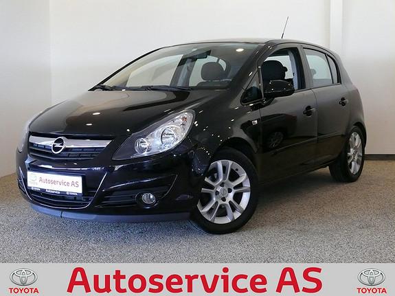 Opel Corsa 1,4 Sport  2007, 97000 km, kr 94000,-