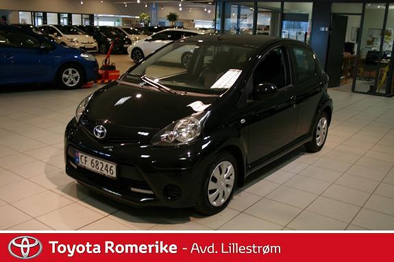 Toyota Aygo 1,0 + 5-d  2013, 19099 km, kr 115000,-