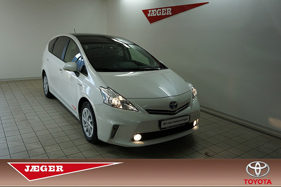 Toyota Prius+ Seven 1,8 VVT-i Hybrid glasstak  2013, 38800 km, kr 289000,-
