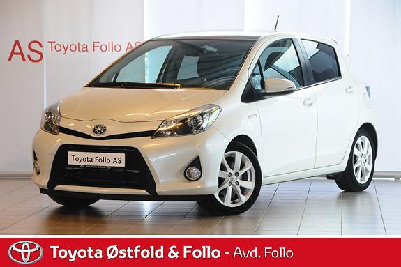 Toyota Yaris 1,5 Hybrid Style e-CVT  2013, 48915 km, kr 185000,-