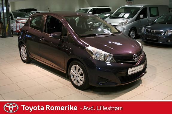 Toyota Yaris 1,4 D-4D Active  2012, 78889 km, kr 142000,-