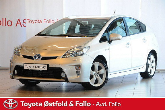 Toyota Prius 1,8 VVT-i Hybrid Executive Se KM!  2012, 7729 km, kr 229000,-