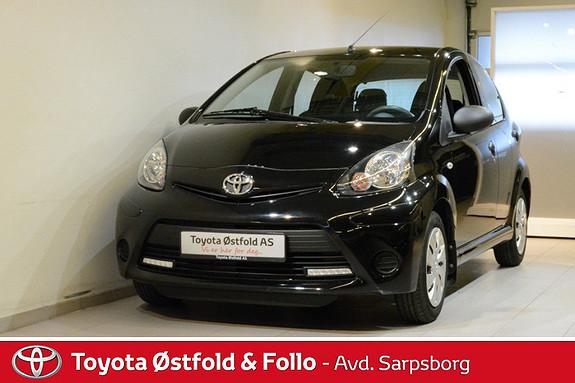 Toyota Aygo 1,0 5-d  2013, 42900 km, kr 95000,-