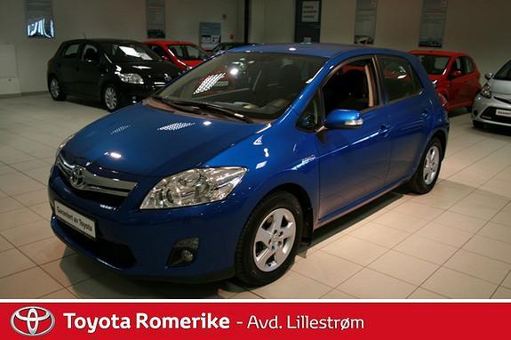Toyota Auris 1,8 Hybrid E-CVT Active  2012, 33363 km, kr 189000,-