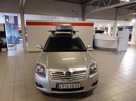 Toyota Avensis 2.0D-4D DPF SOL NAVITECH  2007, 184000 km, kr 99000,-