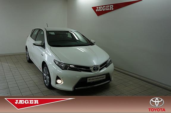Toyota Auris 1,8 Hybrid E-CVT Active  2013, 23600 km, kr 229000,-
