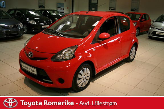 Toyota Aygo 1,0 + 5-d  2013, 38490 km, kr 99000,-