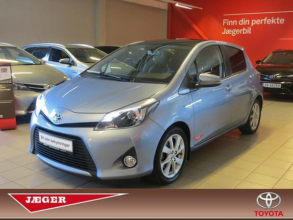 Toyota Yaris 1,5 Hybrid Style  2013, 59200 km, kr 185000,-