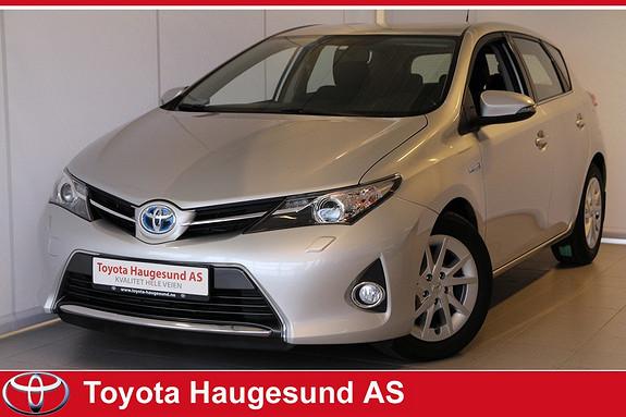 Toyota Auris 1,8 Hybrid E-CVT Active+ Navigasjon, cruise, Bluetooth, ryggekamera, Tectyl +++  2013, 36269 km, kr 220000,-