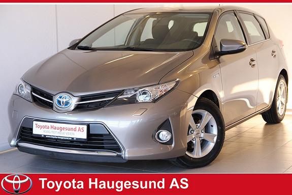 Toyota Auris 1,8 Hybrid E-CVT Active Navi, kamera, Bluetooth, autoklima, cruise, tectylert  2013, 56269 km, kr 210000,-